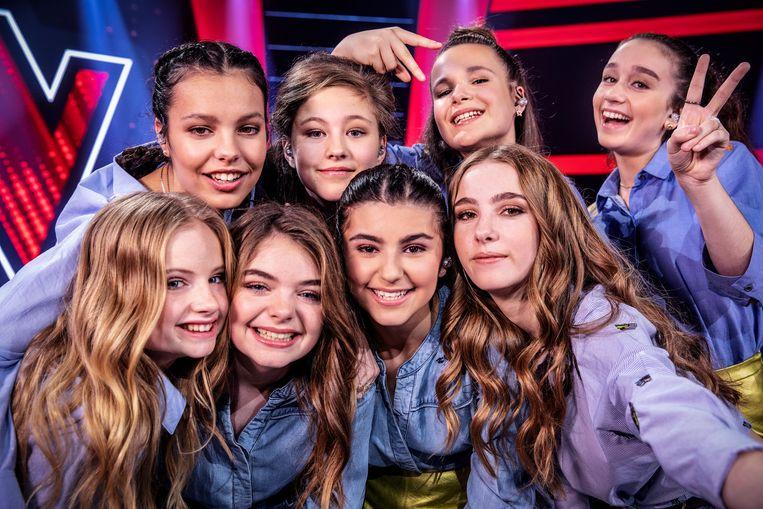 De finalisten van 'The Voice Kids 2018'.
