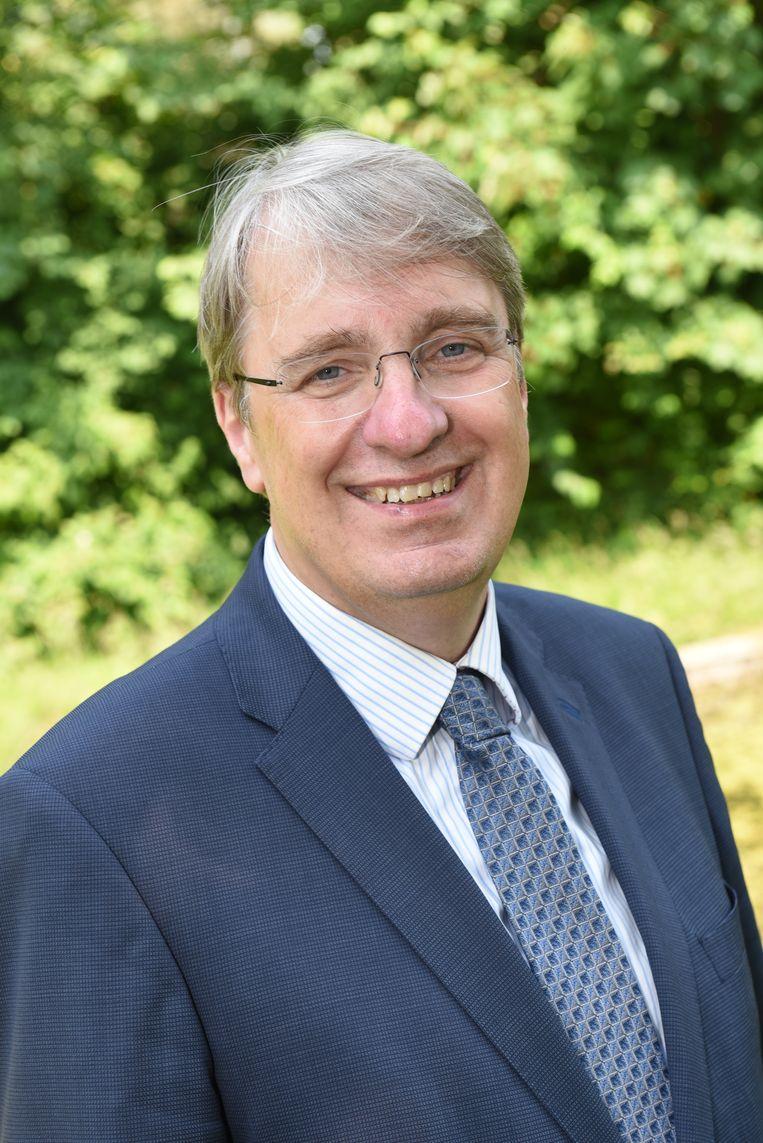 Burgemeester Rob Meerhof van Oostzaan. Beeld gemeente oostzaan