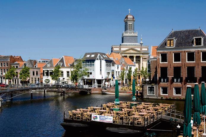Het historisch centrum van Leiden