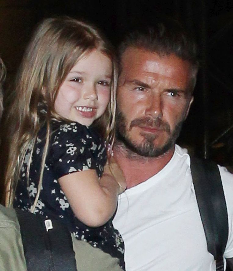 Harper en David Beckham.