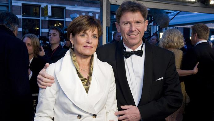 Welten met zijn partner in 2010.