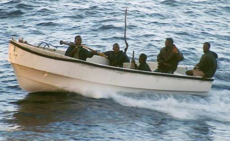 Het cruiseschip Seabourn Spirit werd op 5 november 2005 voor de Somalische kust aangevallen door piraten.