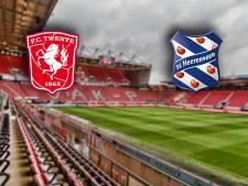 Heerenveen kan wel een opsteker gebruiken tegen FC Twente