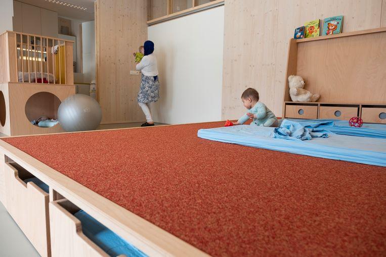 Gerenoveerde kinderdagverblijf Elmer-Nord in Schaarbeek