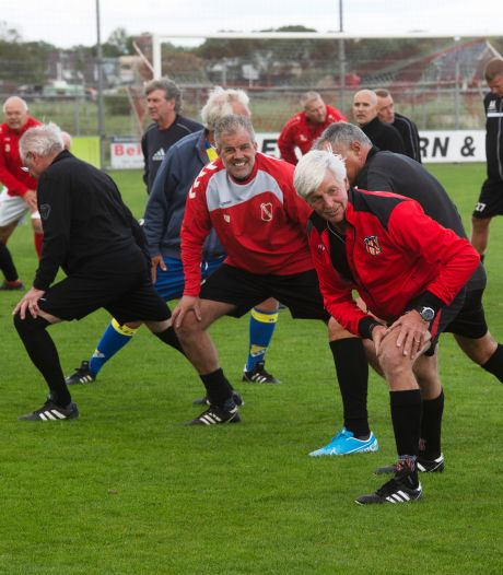 Samen de spieren opwarmen voor eerste Walking Football Toernooi van de Betuwe