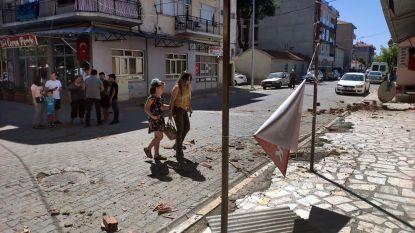 Zware aardbeving schrikt zuidwesten van Turkije op: 23 lichtgewonden