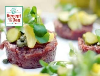 Recept van de dag: Steak Tartare met frietjes