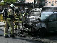Weer autobrand in Enschede: vierde op rij