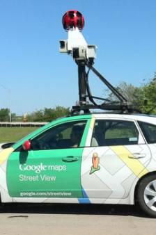 Streetview auto's brengen ook de luchtvervuiling in beeld