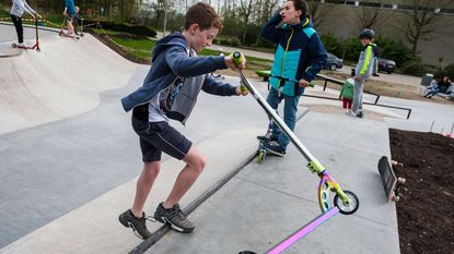 Sportcentrum heeft skatepark