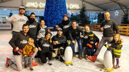Personeel Abtec schaatst voor goed doel