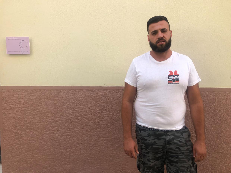 Omar Alshakal, Syrische hulpverlener op Lesbos