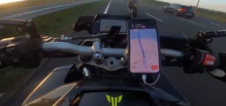 Motorrijders die A16 onveilig maakten opgepakt, politie heeft derde verdachte op de radar