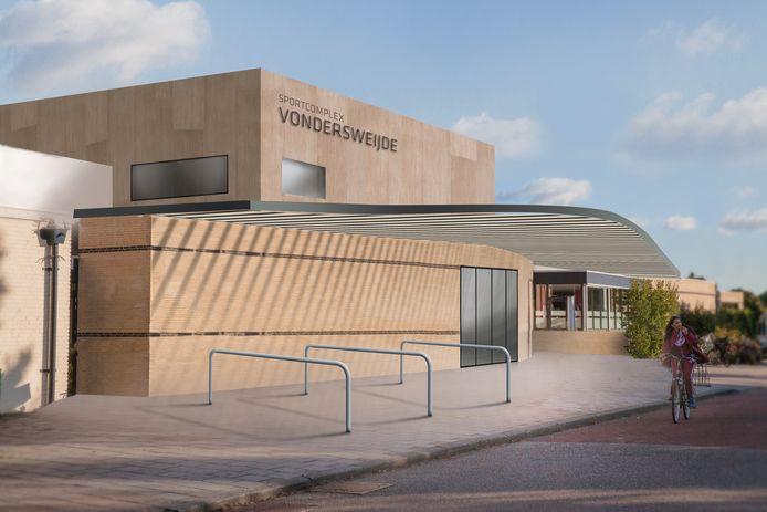 Nu de broekriem verder moet worden aangehaald, zou een versobering van het plan voor de revitalisatie van het sportcentrum Vondersweijde ook een optie kunnen worden.