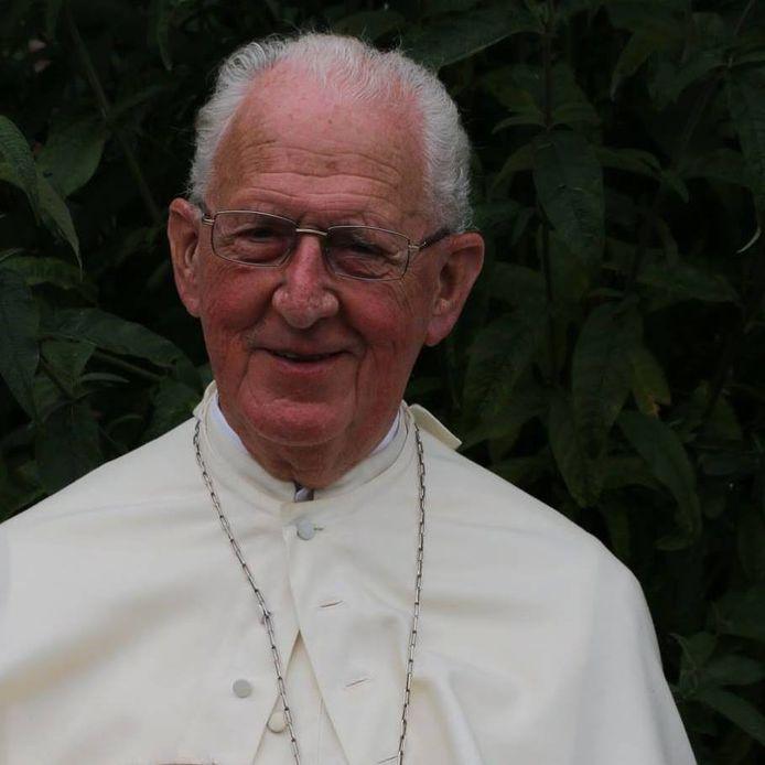 Emeritus abt Piet Wagenaar is op 91 jarige leeftijd overleden - Piet Wagenaar foto 2015.