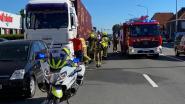 Vrachtwagen vat vuur op R11 in Borsbeek