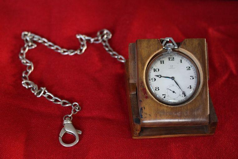 Het horloge van Anthony Wittesaele werd geschat tussen de 4.000 en 6.000 euro