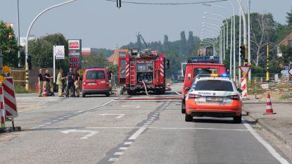 """Arbeiders beschadigen gasleiding met freesmachine: """"Geen evacuaties maar zware avondspits"""""""