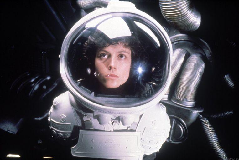 Still uit Alien. Beeld -