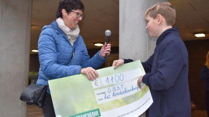 GBS Tervuren zamelt 1.100 euro in voor Kinderkankerfonds tijdens Warmste Week