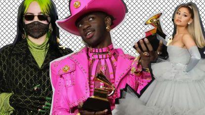 Dit waren de opvallendste outfits op de Grammys