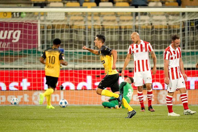 Stefano Marzo zette Roda JC op een 1-0 voorsprong.