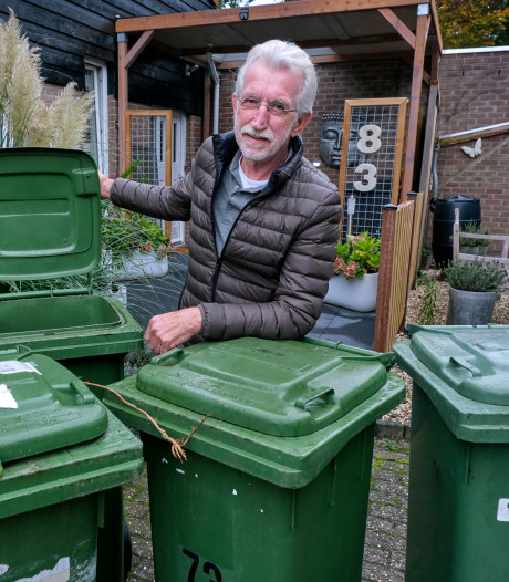 Papendrecht vervangt elke groene container. Onnodig, vindt Herman: 'Mijn gft-bak mankeert niets'