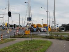 Botsing tussen Ede en Bennekom tijdens wegwerkzaamheden A12