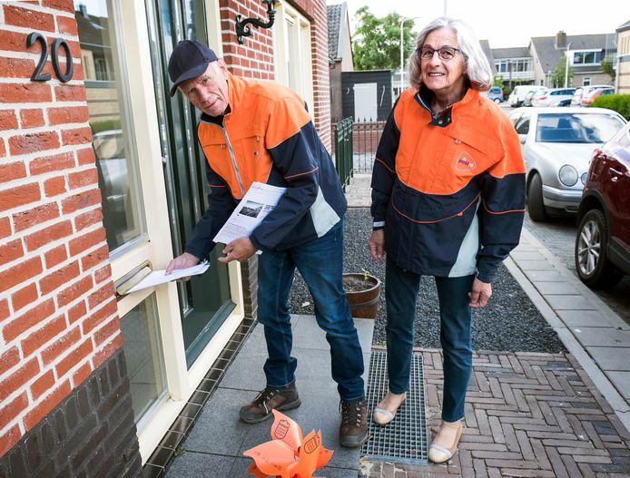 Rien en Nel Gresnigt zijn beiden ver in de zeventig en inmiddels gestopt als postbode in Kanis en Kamerik.
