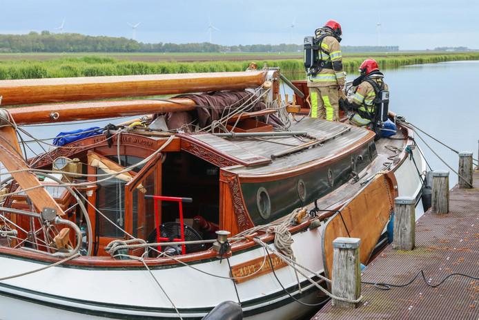 Een oudere man is maandagavond 6 mei aan de dood ontsnapt na koolmonoxidevergiftiging op zijn boot in de Urkervaart in Tollebeek.
