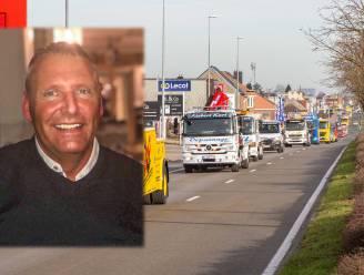 """Collega's nemen op indrukwekkende wijze afscheid van takelaar Stefaan Eeckhoudt (50) uit Sint-Pieters-Leeuw: """"Hij zou trots zijn geweest"""""""