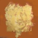 """Harry Villevoye maakte 'Amazing Rembrandt', gebaseerd op diens beroemde ets """"Zelfportret met baret en opengesperde ogen""""."""