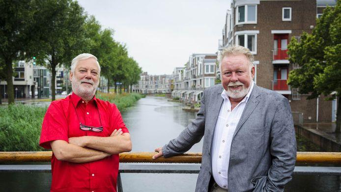 Amstelwijck-voorzitters Wim Scharloo en Bas de Deugd