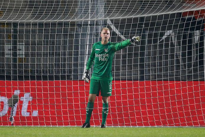 Marco van Duin is de enige doelman in de selectie van NEC.