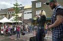 Een eerdere editie van Muziekboulevard op Eikenboomgaard.