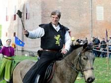 Riddertoernooi bij Slot Loevestein: 'Straks heeft hij pijn!'