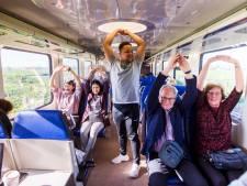 Sporten in de trein, fit op het werk