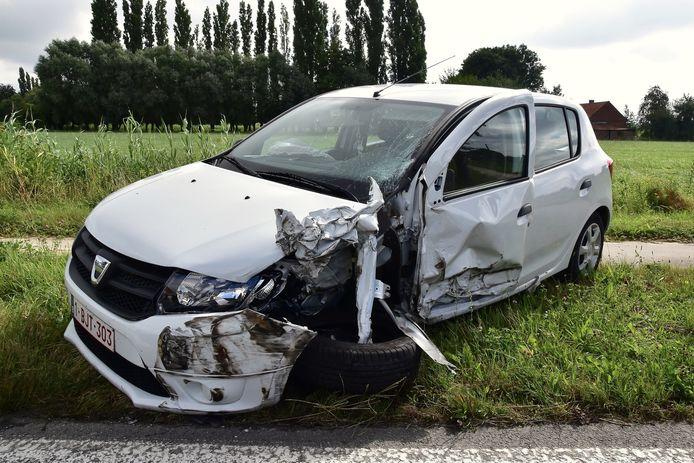De vernielde Dacia van Ellen Depaepe.