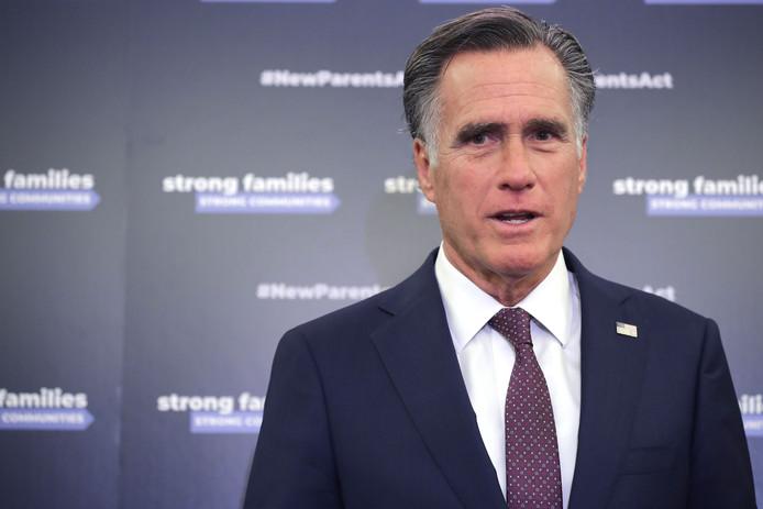 """Senator Mitt Romney: ,,Misselijk."""""""