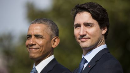 Amerikaanse ex-president Obama roept Canadezen op om Trudeau te steunen