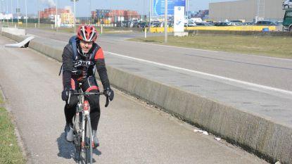 1 op 3 werknemers even snel met fiets in haven