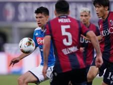 Napoli ziet Milan naderen na gelijkspel tegen Bologna