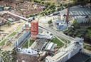 Hoogbouw in Eindhoven: Haasje Over, sociale woningbouw in de hoogte, om Area51 te sparen.