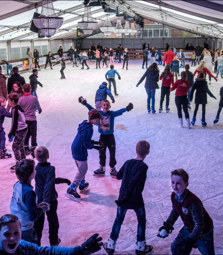 De 'grootste schaatsbaan van Gelderland' staat straks in Beuningen