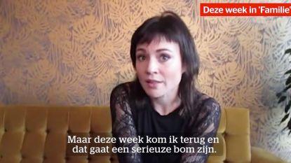 """Erika Van Tielen over nieuwe 'Familie'-week: """"Amélie keert plots terug, haar verschijning slaat in als een bom…"""""""