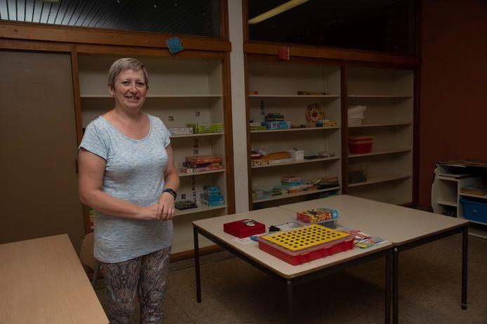 Directrice Inge Thomas van de Daltonschool in Merelbeke en basisschool Flora in Merelbeke.