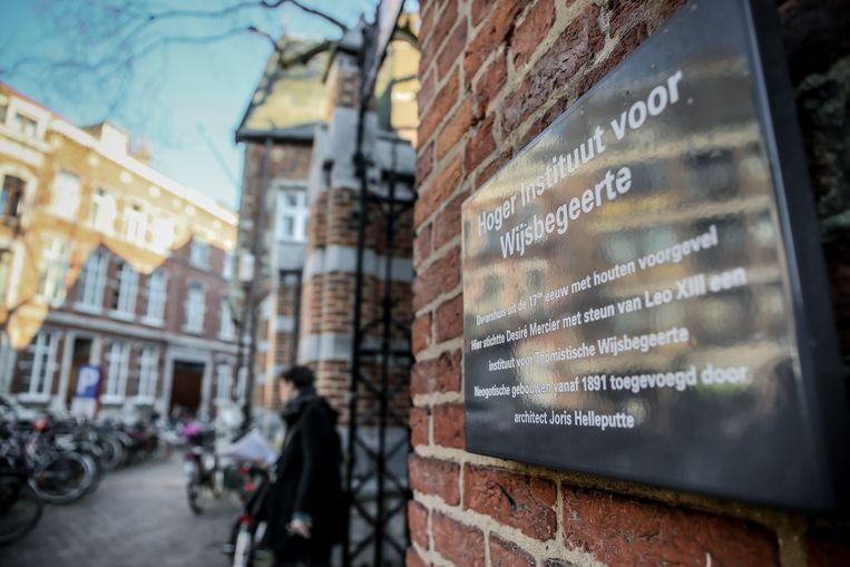In het gebouw van het Hoger Instituut voor Wijsbegeerte werd ingebroken, maar werd niets gestolen.