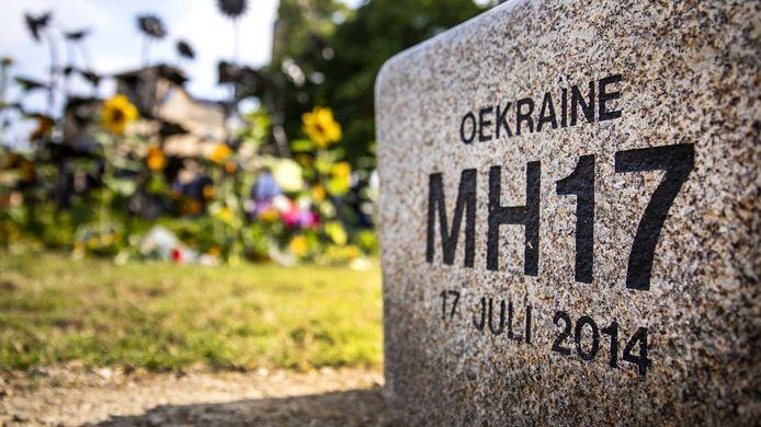 Herdenkplek voor de crash van MH17 in Oekraïne.