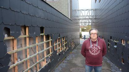 """Jonge vandalen brengen ravage aan in Kleine Heide: """"Nog even en hier hangt geen enkele lei meer aan de muur"""""""