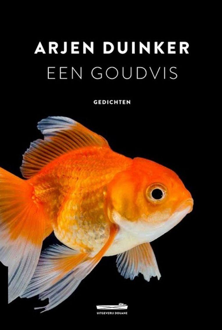 Omslag van 'Een Goudvis' van Arjen Duinker Beeld Uitgeverij Douane
